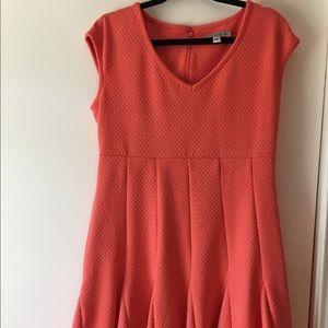 Danny and Nicole orange dress 👗 size:12